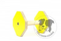 Collision Course Aport Obedience YELLOW L