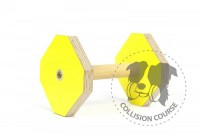 Collision Course Aport Obedience YELLOW M