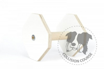 Collision Course Aport Obedience White L