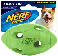Nerf Dog Illuma-Action - Light up Football (S) - Piłka z oświetleniem LED dla psa