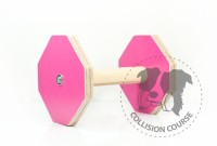 Collision Course Aport Obedience Pink S