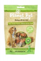 Planet Pet 2in1 Meaty Snacks Chicken & Kiwi (70g) - przysmak 2w1, kurczak & kiwi