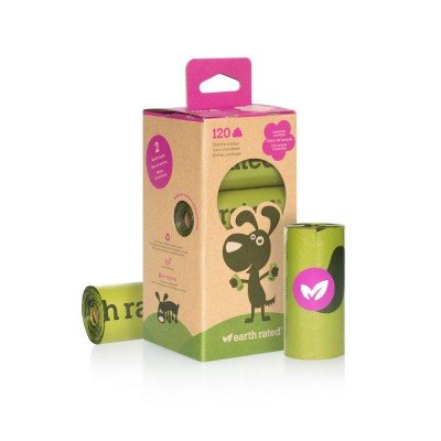 Earth Rated Eco-Friendly PoopBags Scented (8 x 15 szt.) - lawendowe woreczki na psie kupy