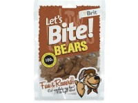 Brit Care Let's Bite Bears (150g) - przysmak z dzika dla psa