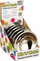 Fellipet Bowl Replacement Stainless Steel Shallow 5.5 - element wymienny ze stali nierdzewnej do miski dla psa