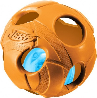 Nerf Dog Illuma-Action - Light up Ball (M) - Piłka z oświetleniem LED dla psa