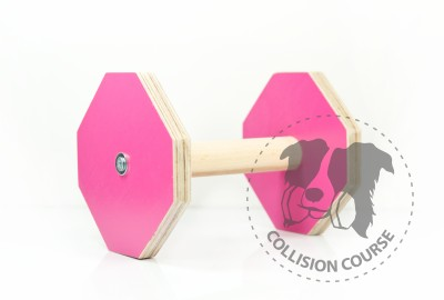 Collision Course Aport Obedience Pink M