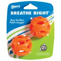 Chuckit! Breathe Right Ball 2 PACK (S) ø 5cm - piłka dla psa
