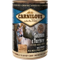 Carnilove Wild Wet Salmon & Turkey for Adult Dogs (400g) - mokra karma dla psa