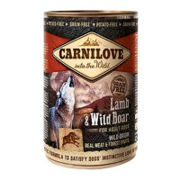Carnilove Wild Wet Lamb & Wild Boar for Adult Dogs (400g) - mokra karma dla psa
