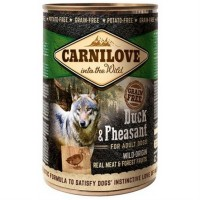 Carnilove Wild Wet Duck & Pheasant for Adult Dogs (400g) - mokra karma dla psa