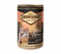 Carnilove Wild Wet Salmon & Turkey for Puppies (400g) - mokra karma dla szczeniąt