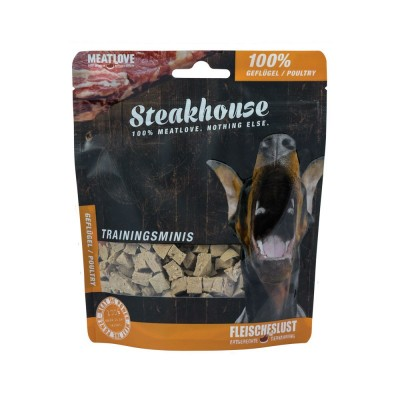 Meat Love Air Dried Training Minis 100% Poultry (100g) - smakołyki treningowe drobiowe dla psa