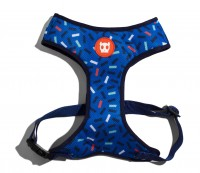 Zee.Dog Dog Air Mesh Plus Harness (M) - szelki ze wzorem dla psa