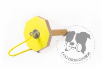 Collision Course Aport Obedience GRIP YELLOW M + sznurek