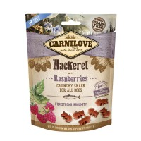 Carnilove  Crunchy Snack Mackerel With Raspberries With Fresh Meat (200g) - przekąska dla psa