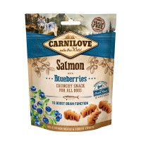 Carnilove Crunchy Snack Salmon With Blueberries With Fresh Meat (200g) - przekąska dla psa