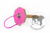 Collision Course Aport Obedience GRIP PINK M + sznurek