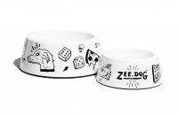 Zee.dog Old School Dog Bowl (S) - miska dla psa