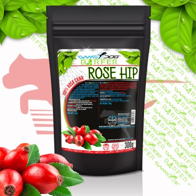 Game Dog BARFER Rose Hip (300 g)- dzika róża, suplement diety dla psów