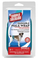 Simple Solution Washable Male Wraps (S) - wielorazowa pielucha dla psa (samca)