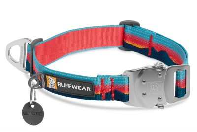 Ruffwear Top Rope Collar; kolor: Sunset / koralowy