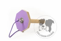 Collision Course Aport Obedience GRIP VIOLET M + sznurek