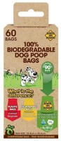 B.O.B 100% Biodegradable Dog Poop Bags - kompostowalne worki na psie odchody
