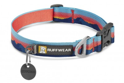 Ruffwear Crag Collar; kolor: Sunset / koralowy