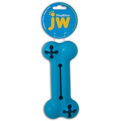 JW Pet Playbites Treat Bone (S/M) - zabawka do żucia
