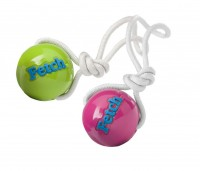 Planet Dog Orbee-Tuff Fetch Ball with Rope (M) - piłka do aportowania na linie